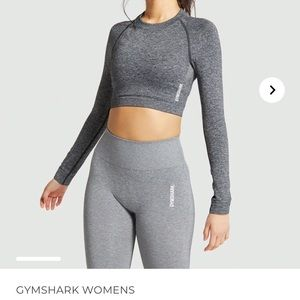 Gymshark Adapt Seamless Crop Top Longsleeve